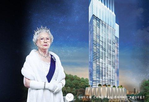 İngiltere Kraliçesi, Bomonti'deki projenin reklam yıldızı!