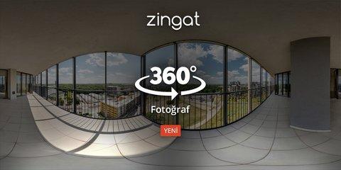 Zingat'tan emlak ilanları için 360° Fotoğraf hizmeti!