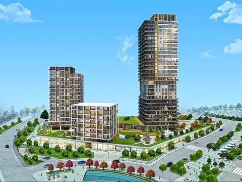 Adım İstanbul'da 2+1 daireler 595 bin TL!