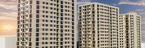 Panorama Küçükköy'de daireler 434 bin TL!