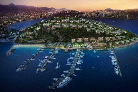Bodrum'un lüks adasında ön talepler başladı!